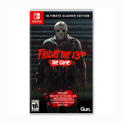 Friday the 13th: The Game - Ultimate Slasher Edition - Switch - Original Físico Nuevo Sellado Garantizado - (GEEKSTOP)
