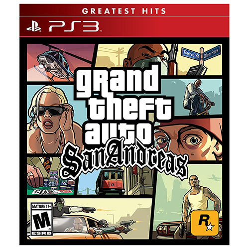 Grand Theft Auto: San Andreas - PS3 - Nuevo Y Sellado
