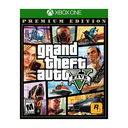 Grand Theft Auto V: Premium Edition - XBOX ONE - USA