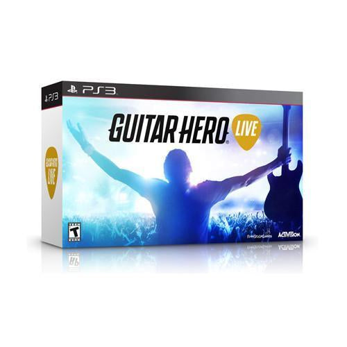 Guitar Hero Live - Game and 1 Guitar - PS3