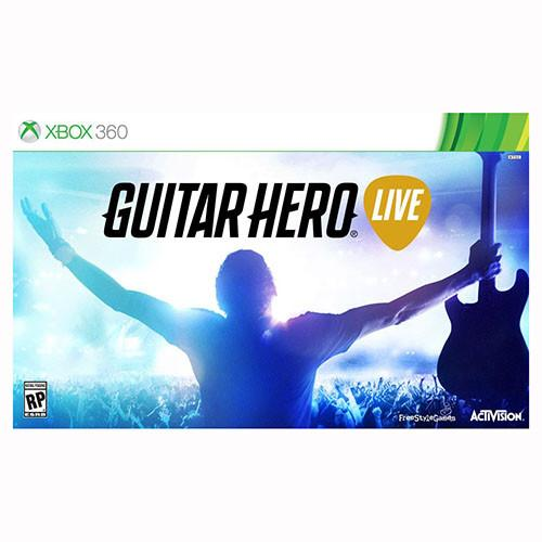 Guitar Hero Live - Game and 1 Guitar - 360