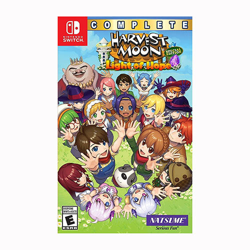 Harvest Moon: Light of Hope SE Complete - Switch - Original Físico Nuevo Sellado Garantizado - (GEEKSTOP)