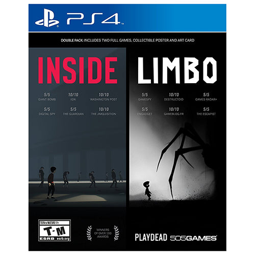INSIDE / LIMBO Double Pack - PS4 - Original Físico Nuevo Sellado Garantizado - (GEEKSTOP)