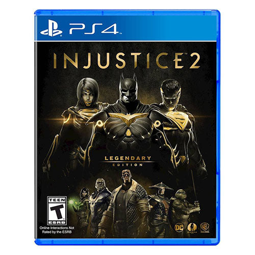 Injustice 2 - Legendary Edition - PS4