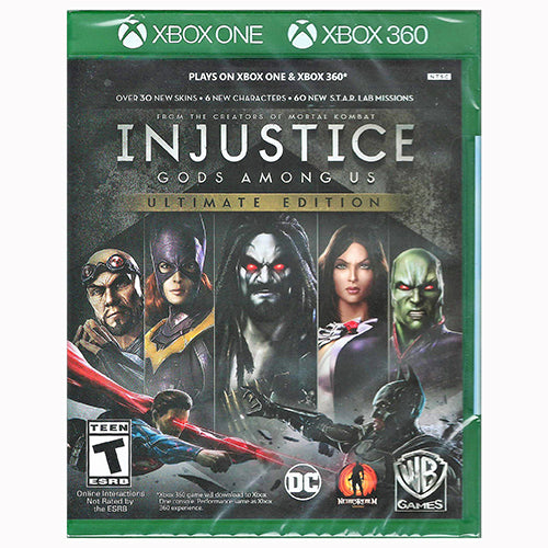 Injustice: Gods Among Us - Ultimate Edition - ONE/360 - Nuevo Y Sellado