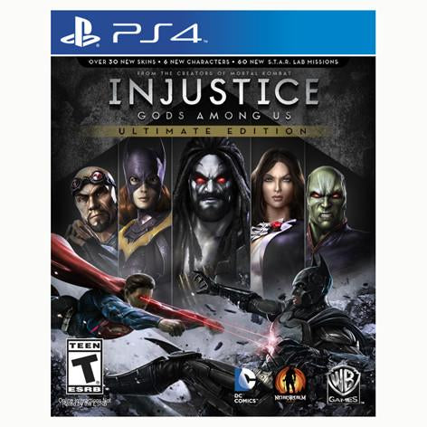 Injustice: Gods Among Us - Ultimate Edition - PS4 - Nuevo y Sellado