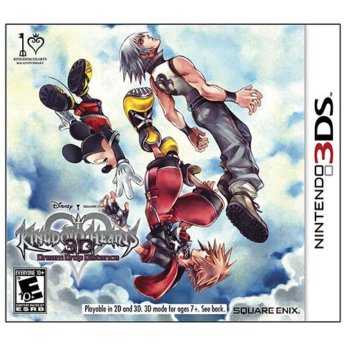 Kingdom Hearts 3D Dream Drop Distance - 3DS - Nuevo y Sellado