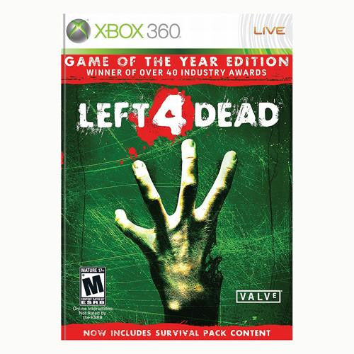 Left 4 Dead - Game of the Year Edition - 360