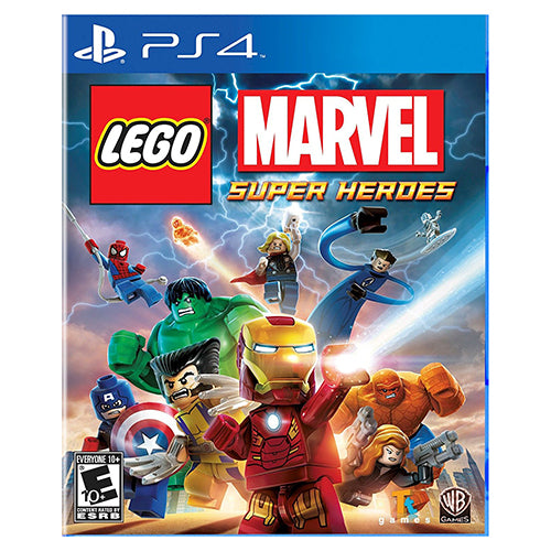 LEGO: Marvel Super Heroes - Playstation 4