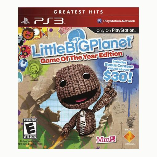 Little Big Planet - Game of the Year Edition - PS3