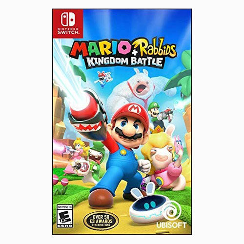 Mario + Rabbids Kingdom Battle - Switch - Original Físico Nuevo Sellado Garantizado - (GEEKSTOP)