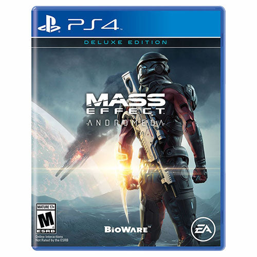 Mass Effect Andromeda - Deluxe Edition - PS4