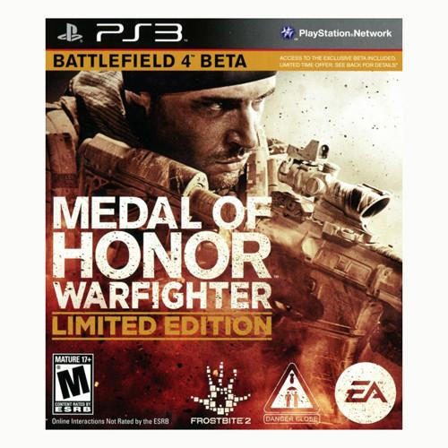 Medal of Honor: Warfighter - Limited Edition - PS3 - Nuevo Y Sellado