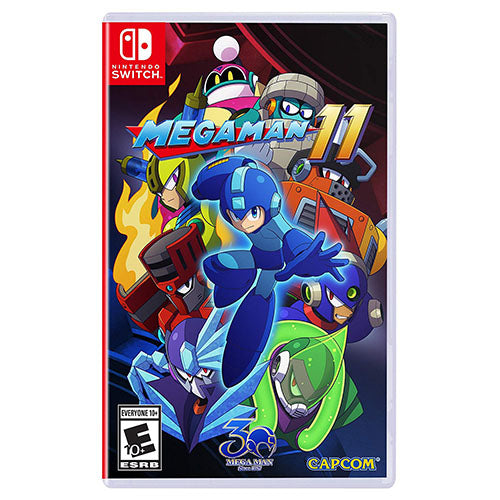 Mega Man 11 - Switch - Nuevo Y Sellado