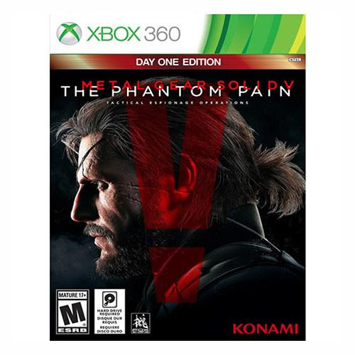 Metal Gear Solid V: The Phantom Pain - Day One Edition - 360 - Nuevo Y Sellado