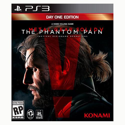 Metal Gear Solid V: The Phantom Pain - Day One Edition - PS3 - Nuevo Y Sellado