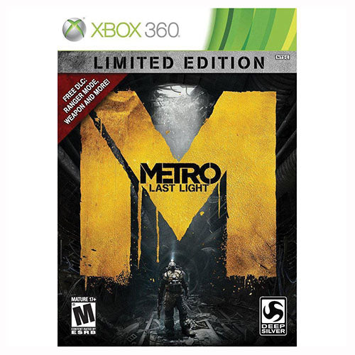 Metro Last Light - Limited Edition - 360 - Nuevo Y Sellado