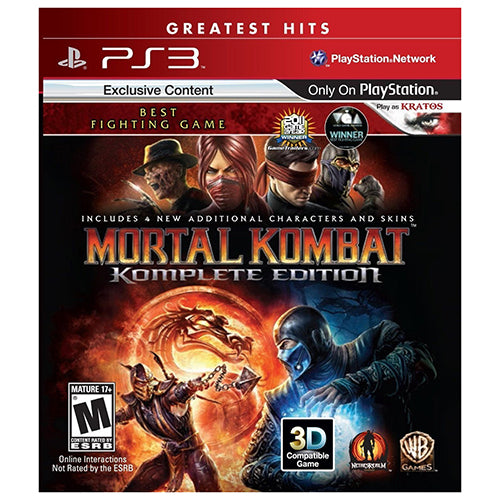 Mortal Kombat: Komplete Edition - PS3