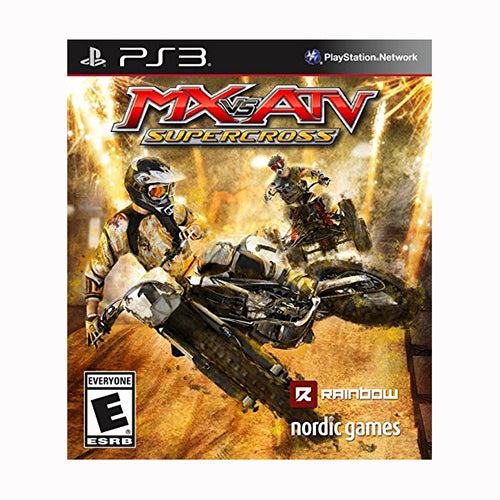 MX vs ATV: Supercross - PS3 - Original Físico Nuevo Sellado Garantizado - (GEEKSTOP)