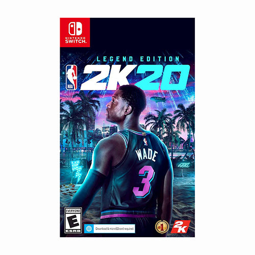 NBA 2K20 Legend Edition - Switch - Preventa 06/09/19 - Original Físico Nuevo Sellado Garantizado - (GEEKSTOP)