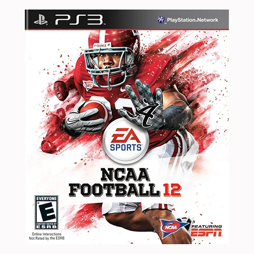 National Collegiate Athletic Association (NCAA) Football 12 - PS3
