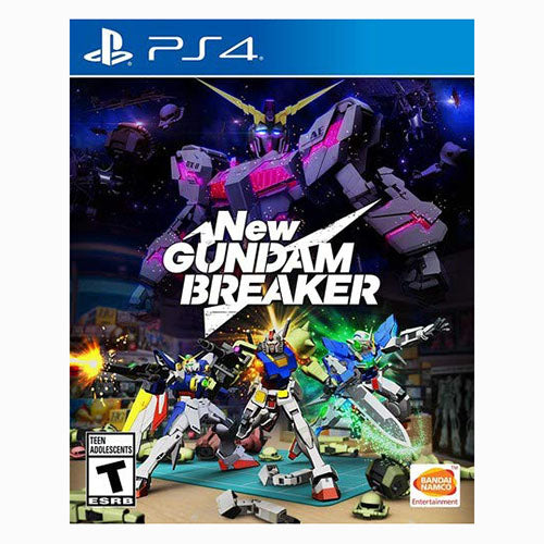 New Gundam Breaker - PS4 - Nuevo y Sellado