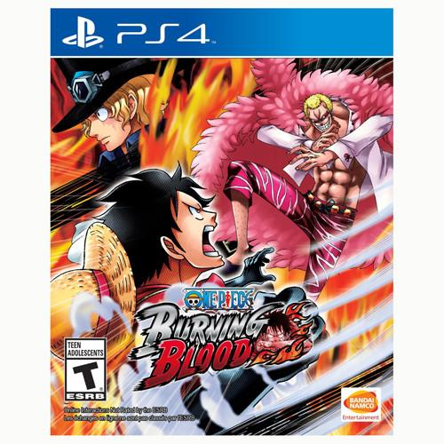 One Piece Burning Blood - PS4 - Original Físico Nuevo Sellado Garantizado - (GEEKSTOP)