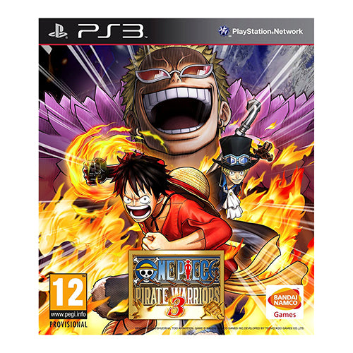 One Piece: Pirate Warriors 3 - PS3 - Nuevo Y Sellado