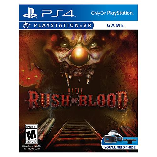 Until Dawn: Rush of Blood - PS4