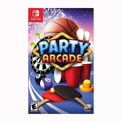 Party Arcade - Switch - Original Físico Nuevo Sellado Garantizado - (GEEKSTOP)