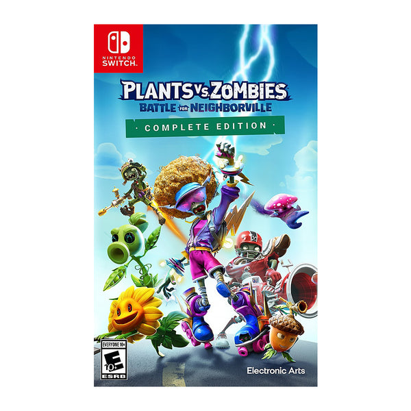 Plants vs. Zombies: Battle for Neighborville - Switch - Releases/Estrena-19MAR2021