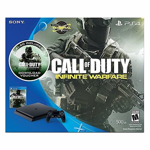 PlayStation 4 Slim 500GB Console - Call of Duty: Infinite Warfare Legacy Bundle - PS4