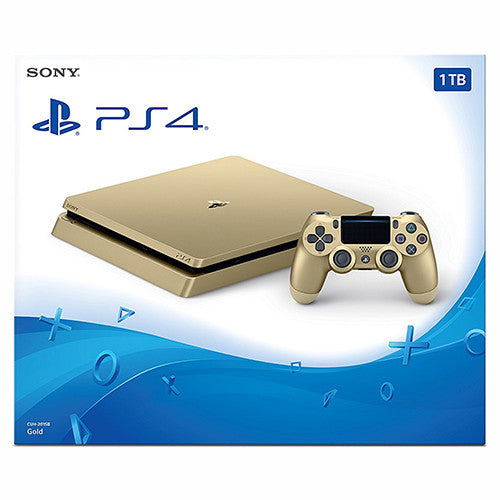 PlayStation 4 Slim 1TB Console - Gold Edition - PS4 - Nuevo y Sellado