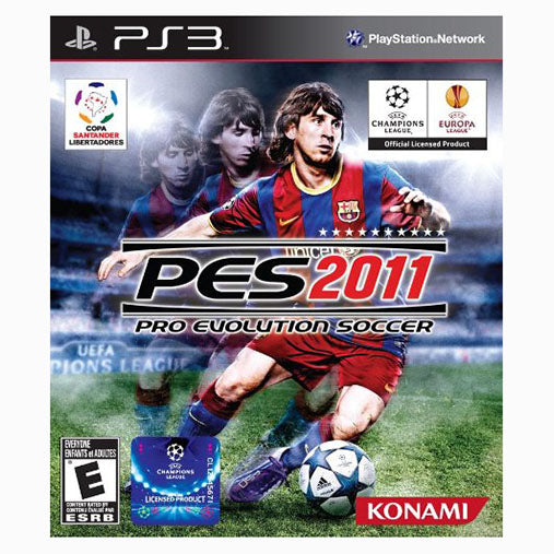 Pro Evolution Soccer (PES) 2011 - PS3 - Nuevo Y Sellado
