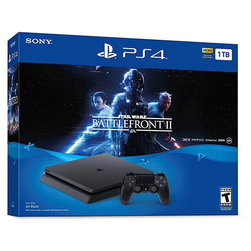 PlayStation 4 Slim 1TB Console - Star Wars Battlefront II Bundle - PS4