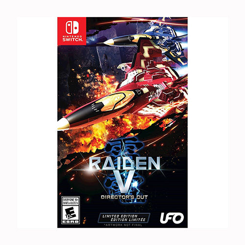 Raiden V: Directors Cut Limited Edition - Switch - Original Físico Nuevo Sellado Garantizado - (GEEKSTOP)