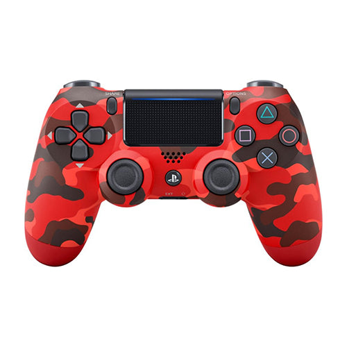 DualShock 4 Wireless Controller Red Camouflage - PS4