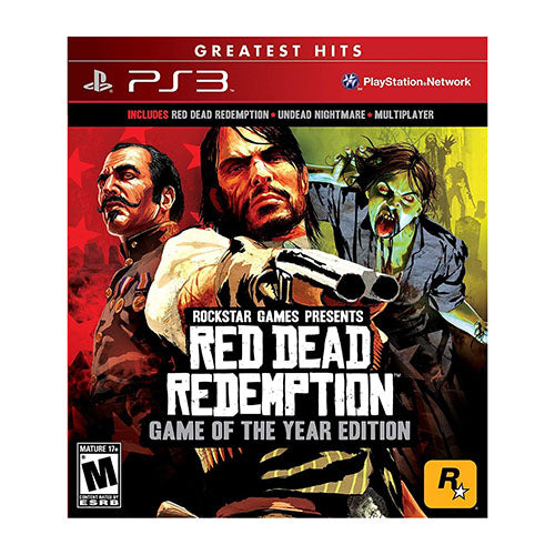Red Dead Redemption - GOTY Edition - PS3