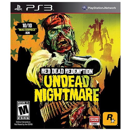 Red Dead Redemption Undead Nightmare - PS3 - Original Físico Nuevo Sellado Garantizado - (GEEKSTOP)