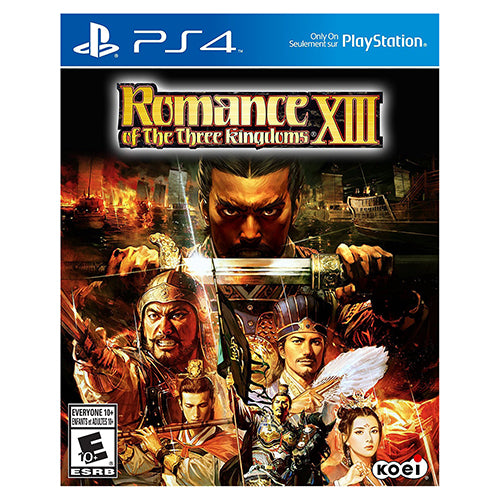 Romance of the Three Kingdoms XIII - Playstation 4