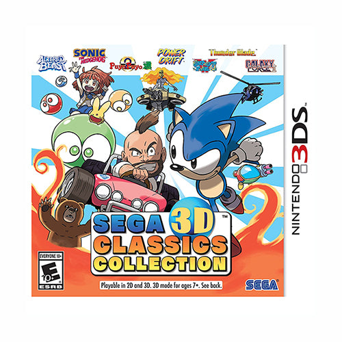 SEGA 3D Classics Collection - 3DS