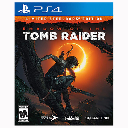 Shadow of the Tomb Raider - Limited Steelbook Edition - Playstation 4