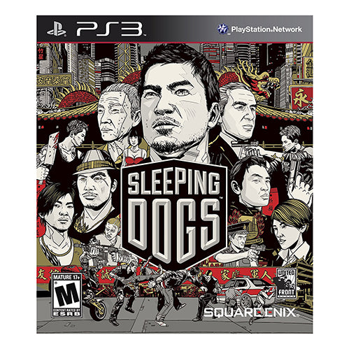 Sleeping Dogs - PS3 - Original Físico Nuevo Sellado Garantizado - (GEEKSTOP)
