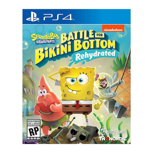 SpongeBob SquarePants: Battle for Bikini Bottom - Rehydrated - Playstation 4