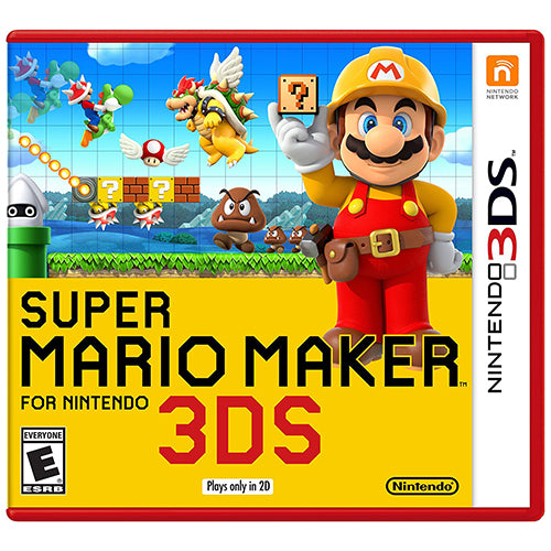 Super Mario Maker - 3DS