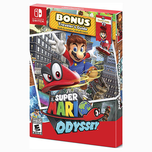 Super Mario Odyssey - Starter Pack Edition - Switch - Nuevo Y Sellado