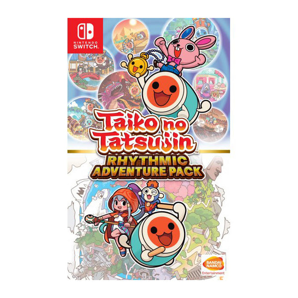 Taiko no Tatsujin: Rhythmic Adventure Pack - Switch