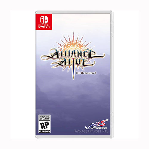 The Alliance Alive HD Remastered Awakening Edition - SWITCH