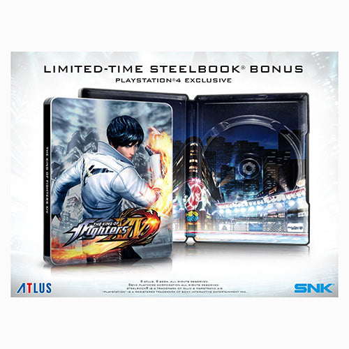 The King Of Fighters 15 - Steelbook Edition - Playstation 4