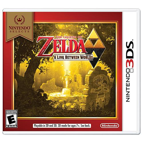 The Legend of Zelda: A Link Between Worlds - 3DS - Nuevo y Sellado